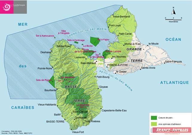 Guadeloupe Info * aires marines protégées *
