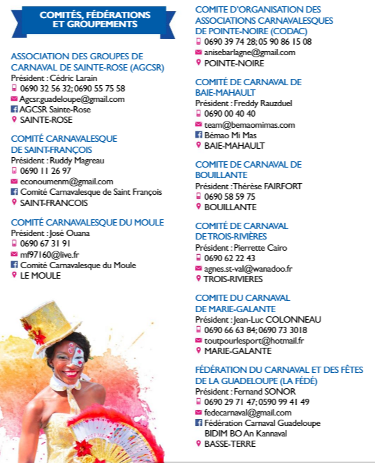 Calendrier Carnaval 2021 Carnaval 2021 en Guadeloupe